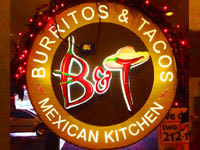 B&T Mexican Kitchen, Mckinley Hill