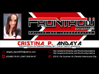 Frontrow International by: Cristina P. Andaya