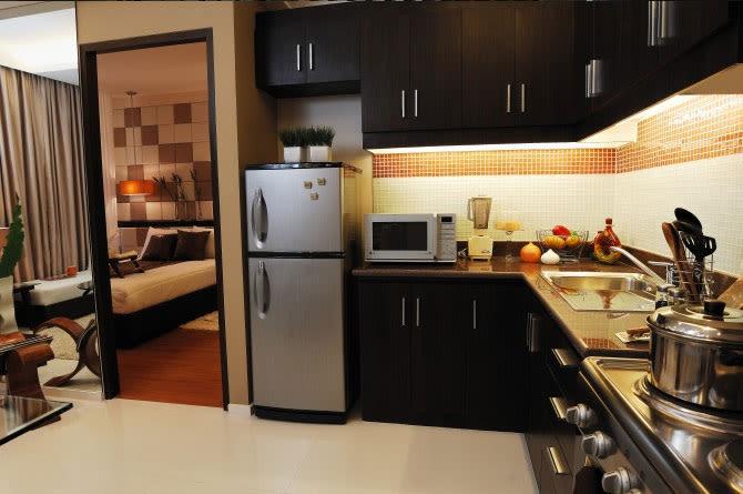 1 BR Model Unit - Kitchen