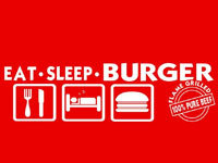 Eat Sleep Burger