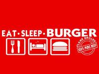 Eat Sleep Burger