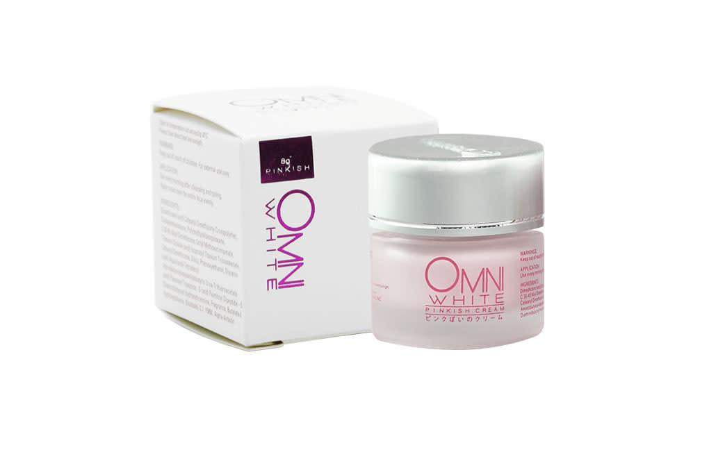 Omni White Pinkish Cream