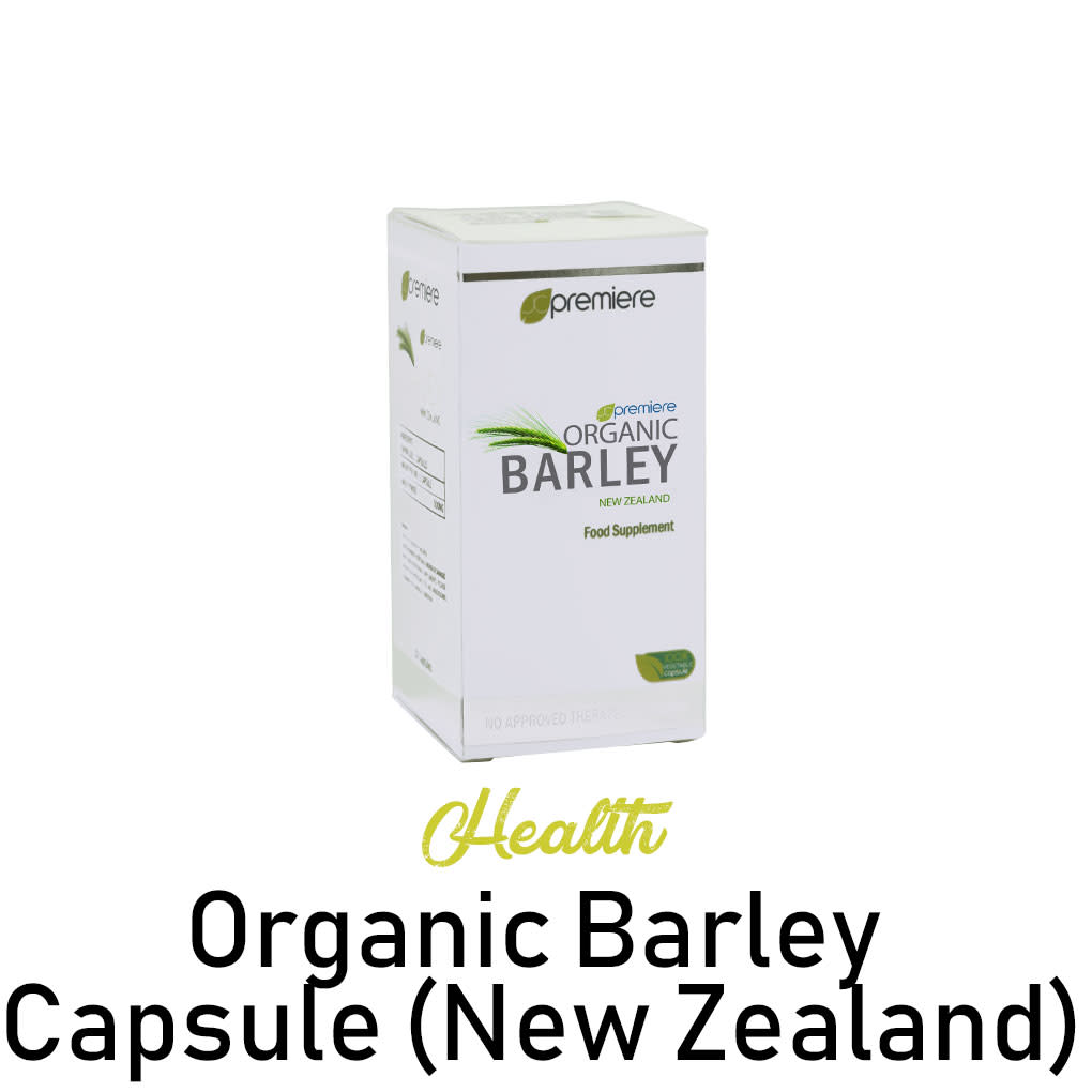 Organic Barley Capsule (New Zealand)