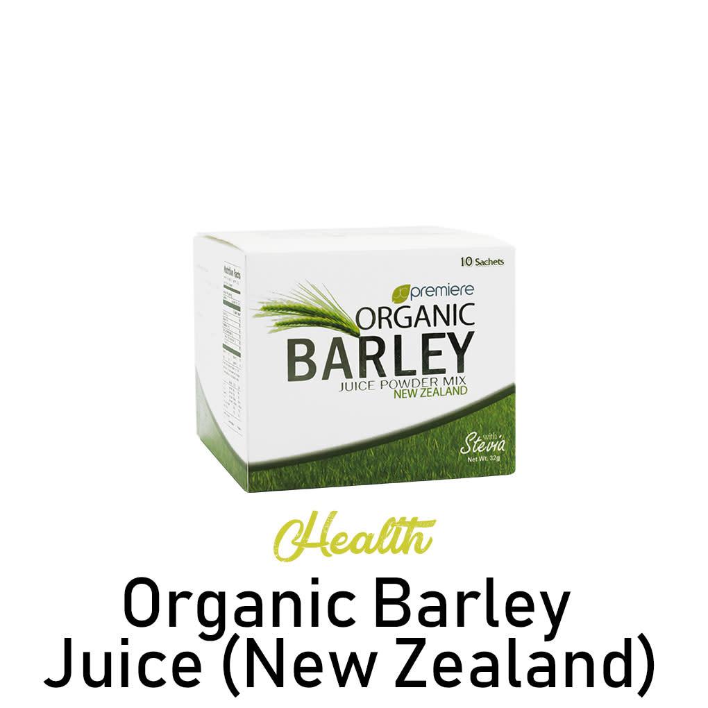 Organic Barley Juice (New Zealand)