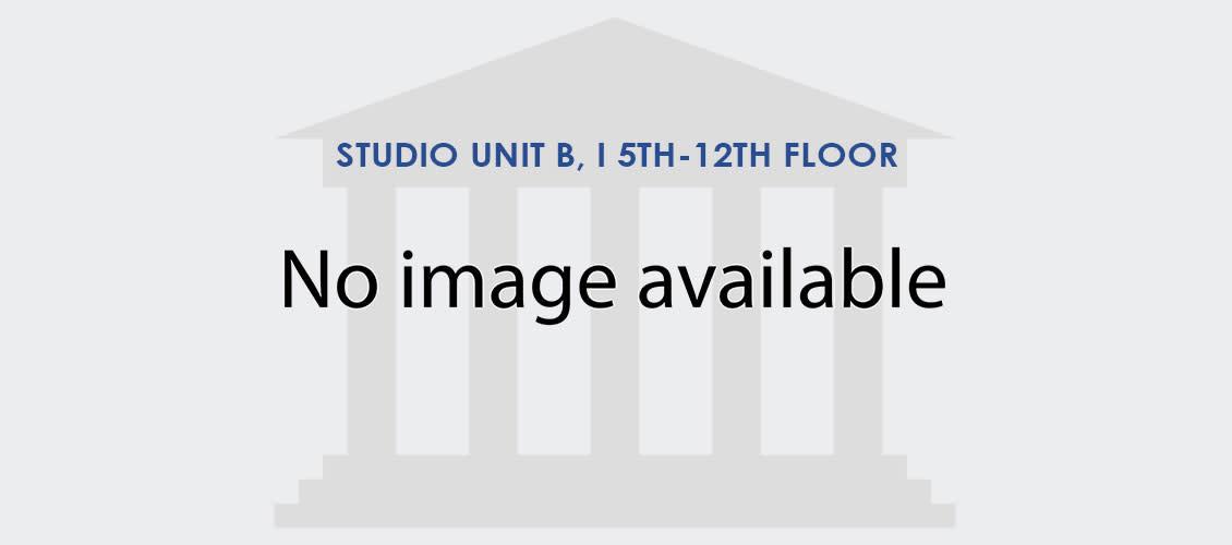 Studio Unit B, I 5th-12th Floor