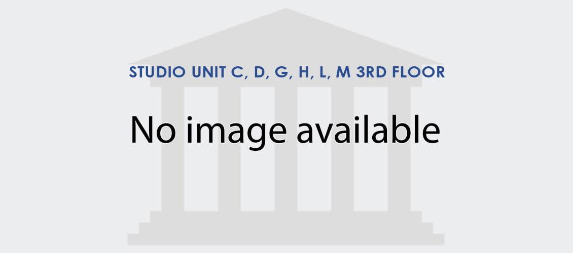Studio Unit C, D, G, H, L, M 3rd Floor