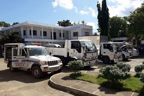 New Service Vehicles of LGU Pandan, Catanduanes