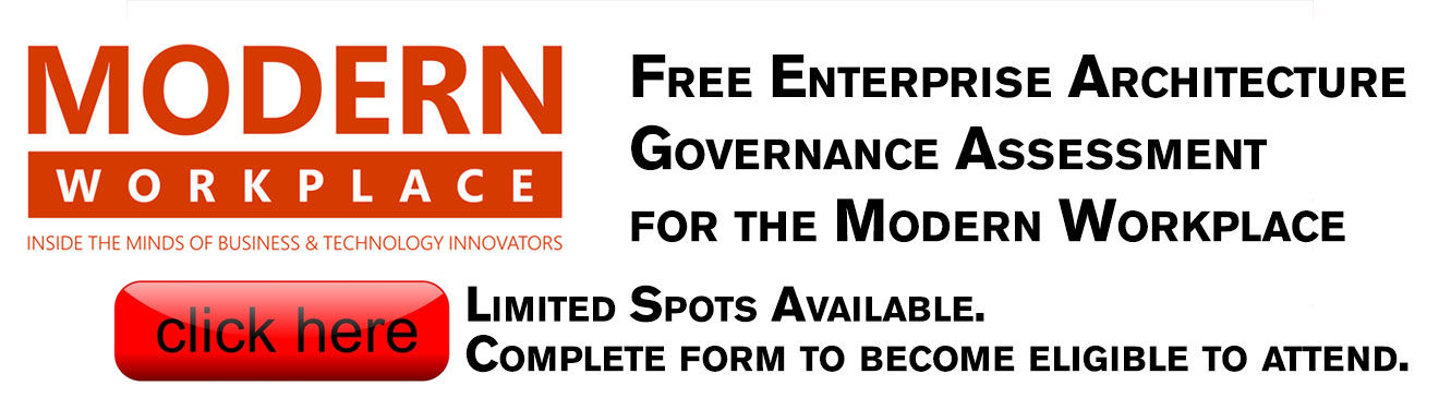 Free Enterprise Architecture Governance Assessment for the Modern Workplace