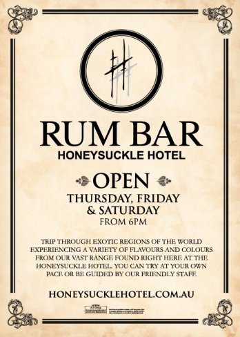 Come and Experience our Rum Bar