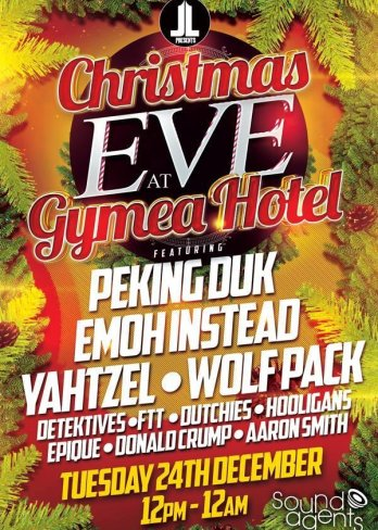 Christmas Eve at Gymea Hotel