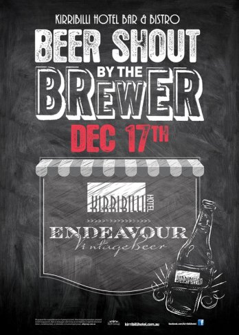 Beer Shout by the Brewer