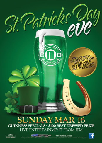 St Patrick's Day Eve
