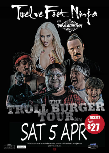 Twelve Foot Ninja 'Troll Burger Tour'