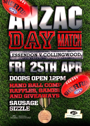Anzac Day Match