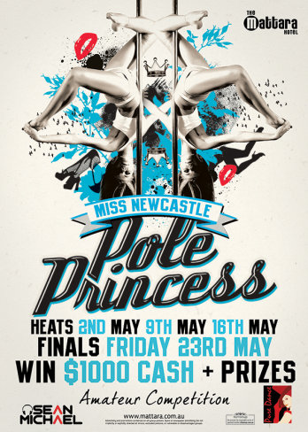 Miss Newcastle Pole Princess