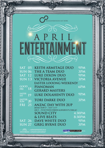 April Entertainment