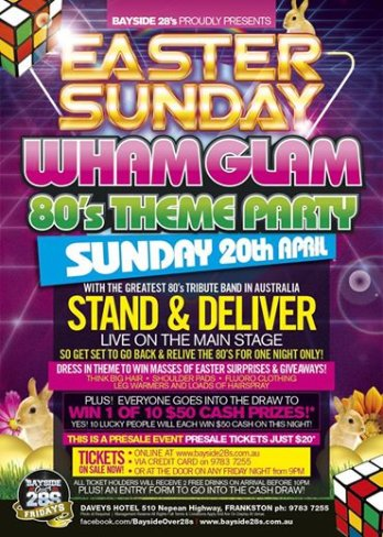 Wham Glam 80s Party