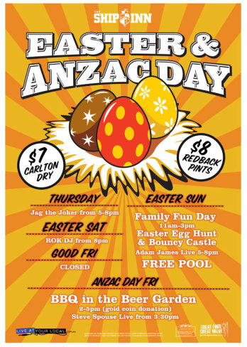 Easter & Anzac Day