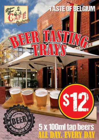 Try Our $12 Beer Tasting Trays
