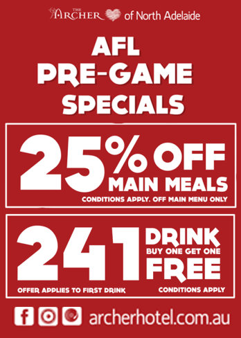 AFL Pre-Game Specials