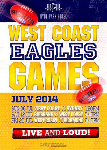 West Coast Eagles Games