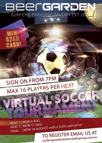 Virtual Soccer Tournament
