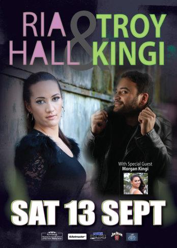Ria Hall & Troy Kingi