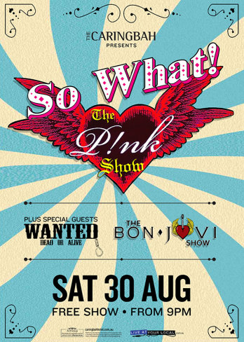 So What PINK Show &  Bon Jovi Show
