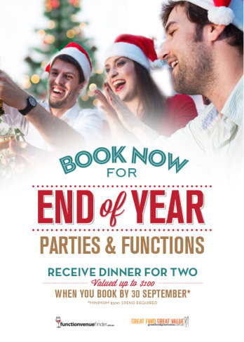 Receive Dinner for Two Valued up to $100