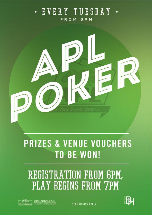Apl poker venues