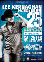 Lee Kernaghan's 25th Anniversary Country Carnival