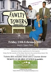 The Fawlty Towers Dinner Dance