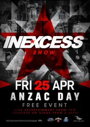 Anzac Day – INXS Tribute