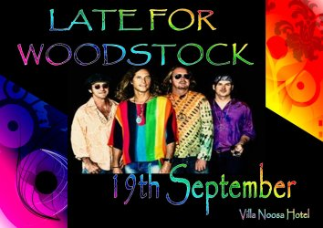 Late for Woodstock