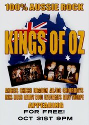 Kings of Oz Tribute Show