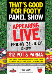 That's Good For Footy Panel Show