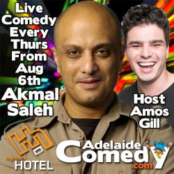 Live Comedy Featuring Akmal Saleh