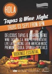 Tapas & Wine Night!