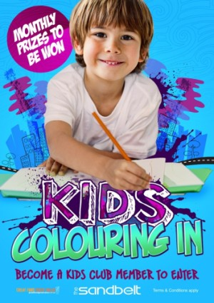 Kids Colouring In Competition