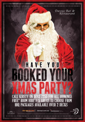 Have You Booked Your Xmas PartyYet?