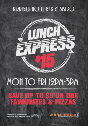 $15 Lunch Express