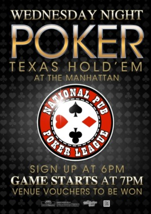 Wednesday National Pub Poker League