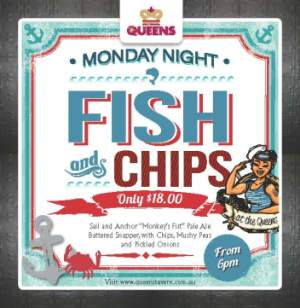 Monday Night $18 Fish n' Chips