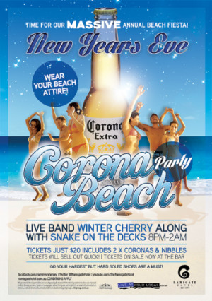 NYE Beach Party
