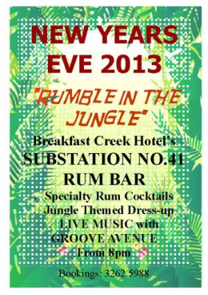 NYE Rumble in the Jungle