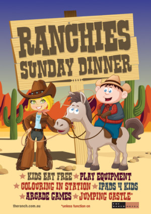 Ranchie's Sunday Dinner Activities