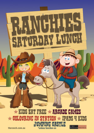 Ranchie's Saturday Lunch Activities