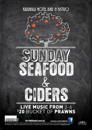 Sunday Seafood & Ciders