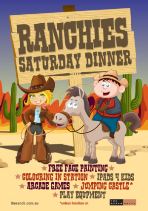 Ranchie's Saturday Dinner Activities