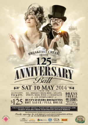 Breakfast Creek Hotel 125th Anniversary Ball